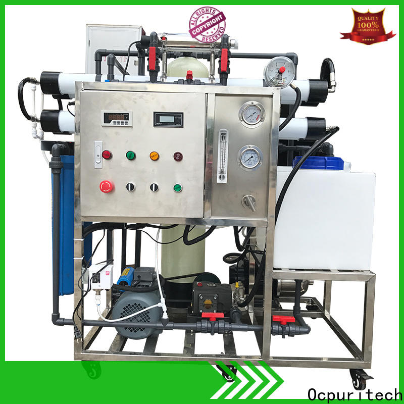 Ocpuritech reverse seawater desalination equipment customized for factory