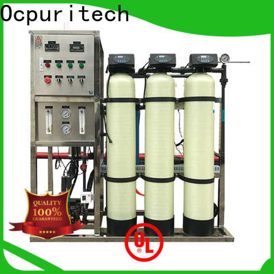 Ocpuritech reliable ro water purification system supply for seawater