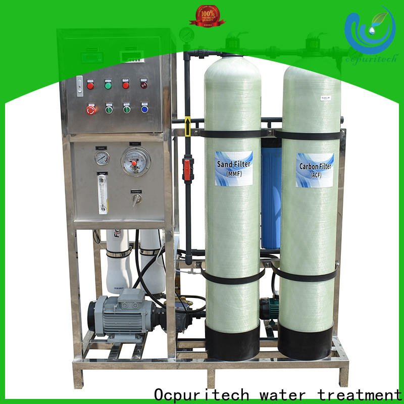 Ocpuritech desalination pure water treatment plant manufacturer for factory