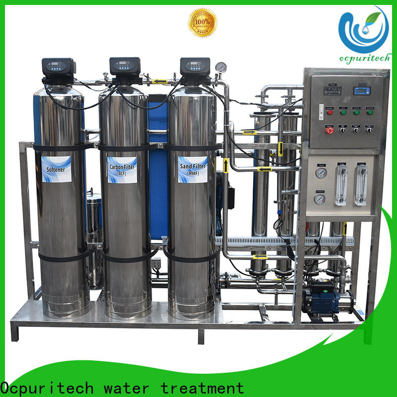 Ocpuritech best ro plant industrial supply for seawater