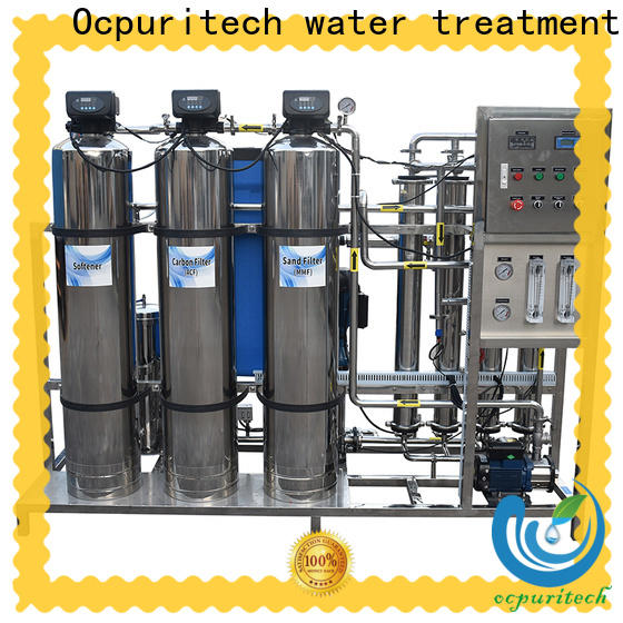 Ocpuritech exchange water treatment systems manufacturers for factory