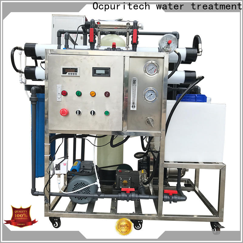 Ocpuritech latest seawater desalination factory for factory