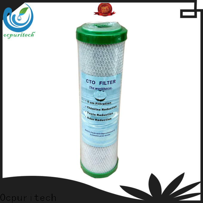 Ocpuritech activated carbon whole house water filter replacement cartridges design for medicine