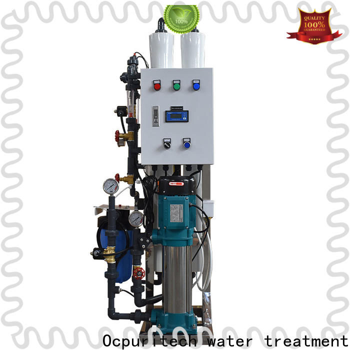 Ocpuritech ro mineral water plant factory price for food industry