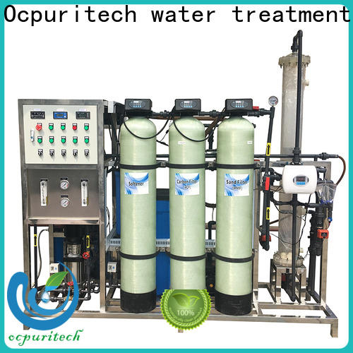 Ocpuritech disinfection water purification unit customized for factory