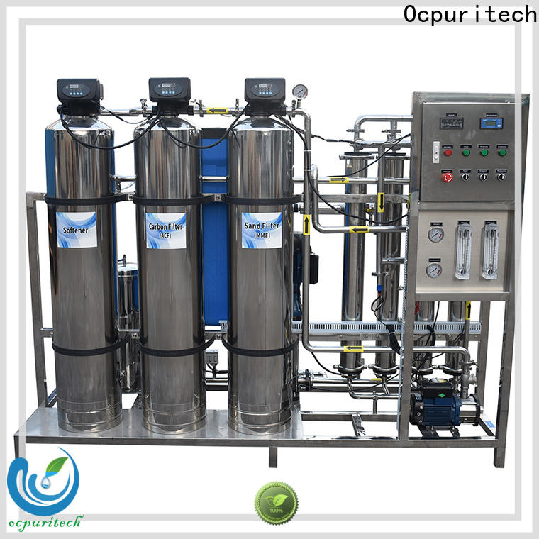 Ocpuritech reverse water treatment system manufacturer company for chemical industry