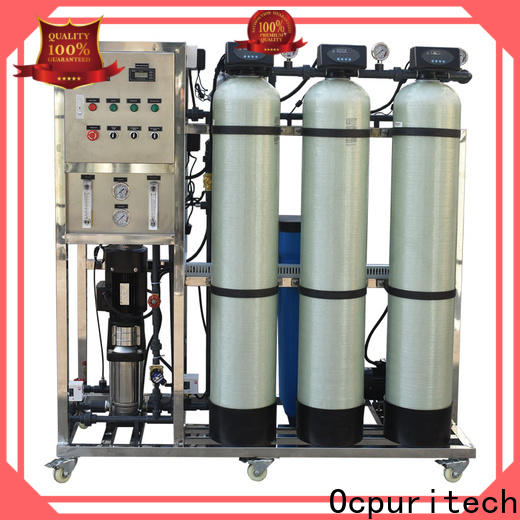 durable mobile water treatment plant per manufacturers for food industry