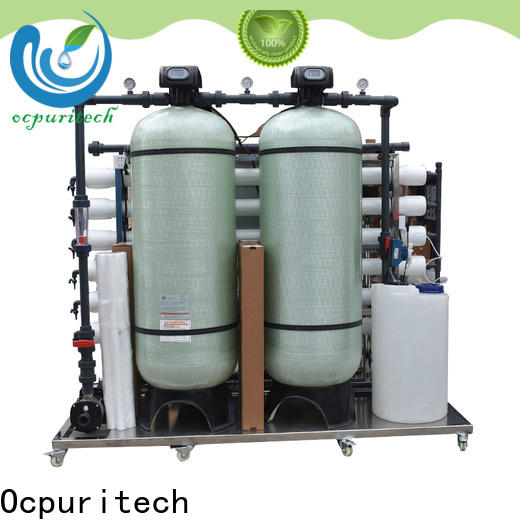 Ocpuritech filter well water filtration system supply for seawater