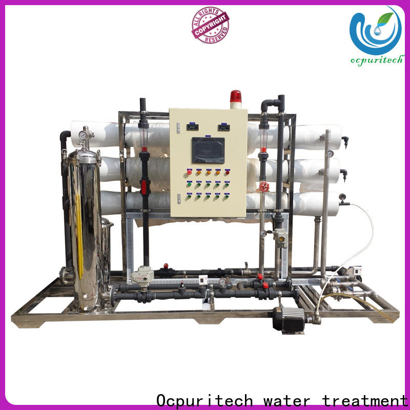 Ocpuritech durable ro water plant company for seawater