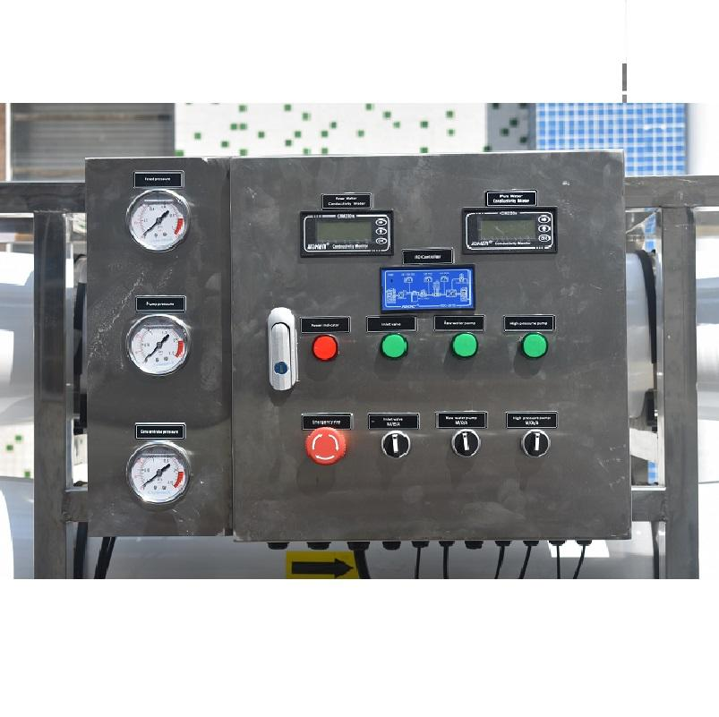 5000lph Large Industrial Purification Drinking Water Treatment Machinery Ro System Plant