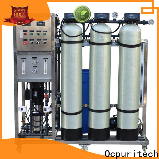 Ocpuritech 500lph ro water system for home personalized for food industry