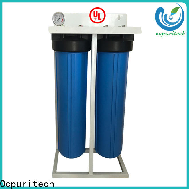 Ocpuritech blue water filtration system personalized for agriculture