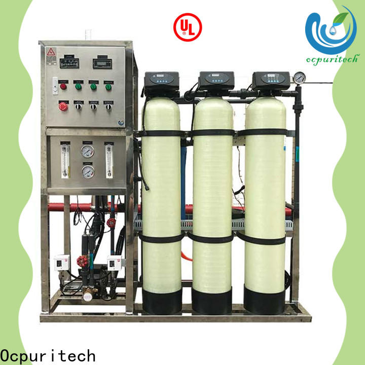 Ocpuritech high-quality reverse osmosis water filtration for business for food industry