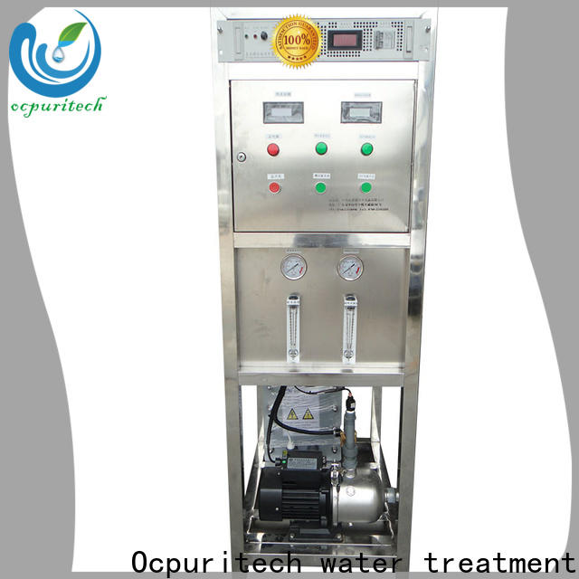 Ocpuritech practical electrodeionization water treatment factory for seawater