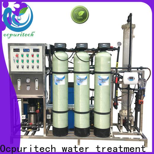 Ocpuritech deionized deionized water system design for medicine