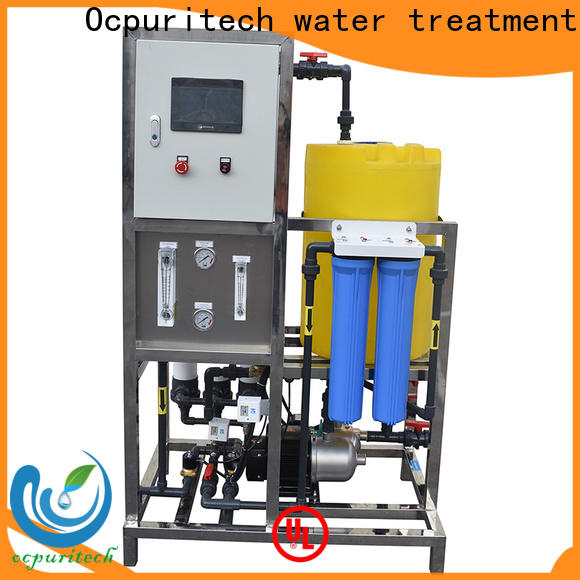 Ocpuritech uf pure water treatment plant for factory