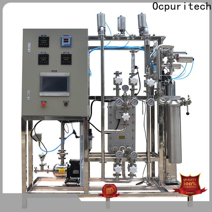 Ocpuritech 500lph edi system supply for food industry