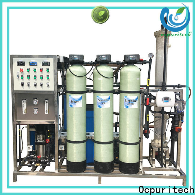 Ocpuritech pure deionized water filtration system supply for business