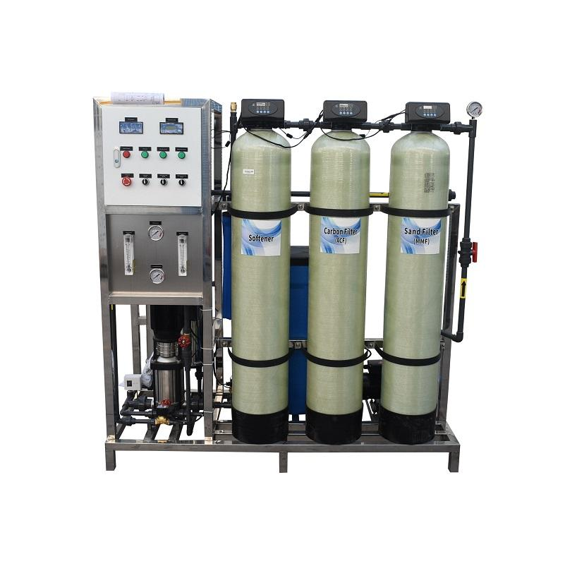 250 Lph Ro System industrial drinking water filter Machine Reverse Osmosis purification
