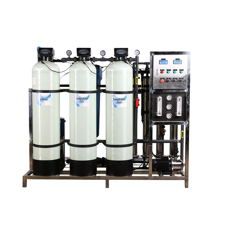 1000 Lph Ro Industrial Reverse Osmosis Water Treatment Purification Machine