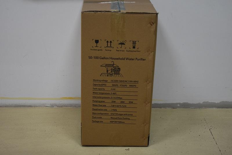 product-75GPD Home Small Water Treatment Plant Household RO Purifier Machine-Ocpuritech-img-2