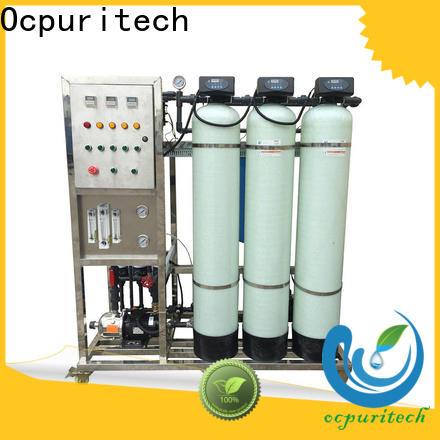 Ocpuritech 500lph ultrafiltration water treatment factory for seawater
