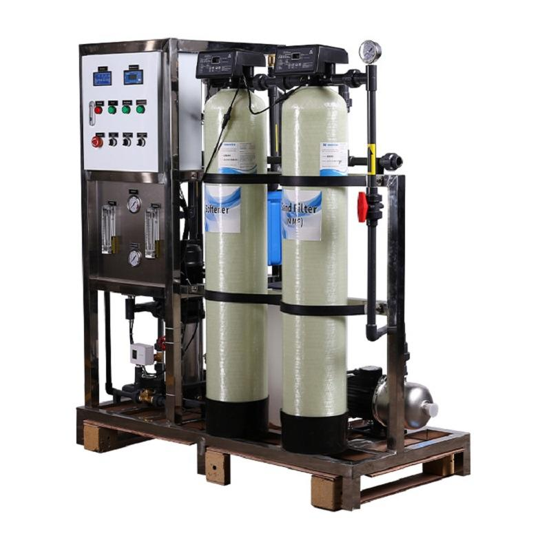 125LPH Ro industrial reverse osmosis water purification machinery required for mineral water plant
