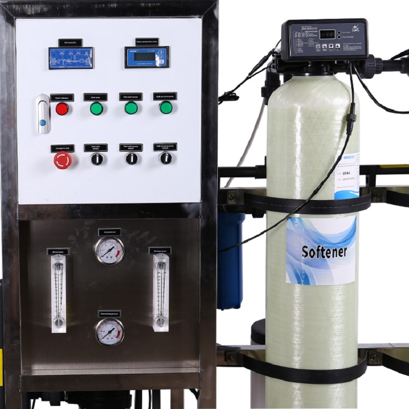 product-125LPH Ro industrial reverse osmosis water purification machinery required for mineral water