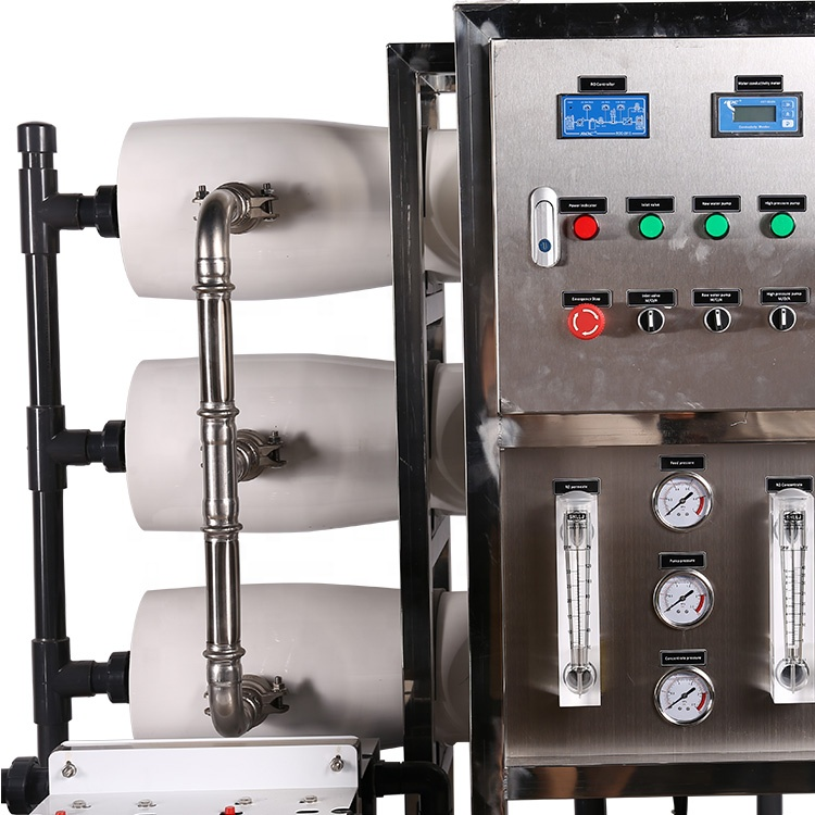 Manufacturer 3000lph Industrial equipment reverse osmosis RO system machinery drinking purification pure water treatment plant
