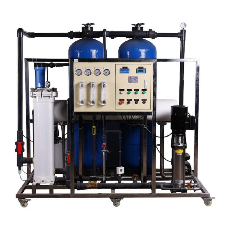 1500lph water filter purifier reverse osmosis system machines equipment for water plant RO filtration