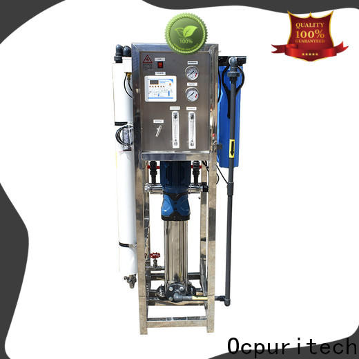 Ocpuritech latest pure water treatment plant from China for industry