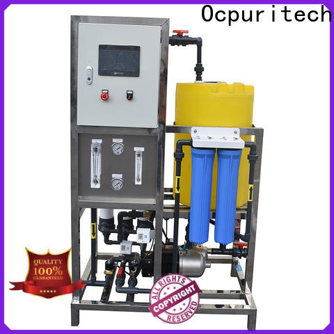 best pure water treatment plant 750lph supply for industry