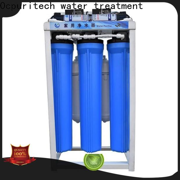 Ocpuritech stages commercial water filter manufacturers for food industry
