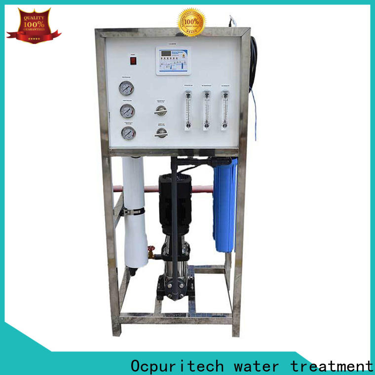 Ocpuritech durable industrial reverse osmosis system suppliers for food industry