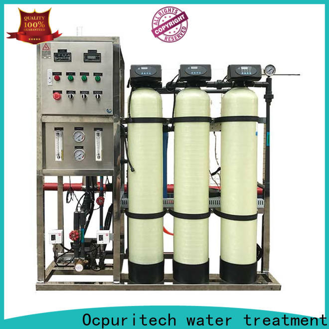 Ocpuritech stainless well water filtration system company for agriculture