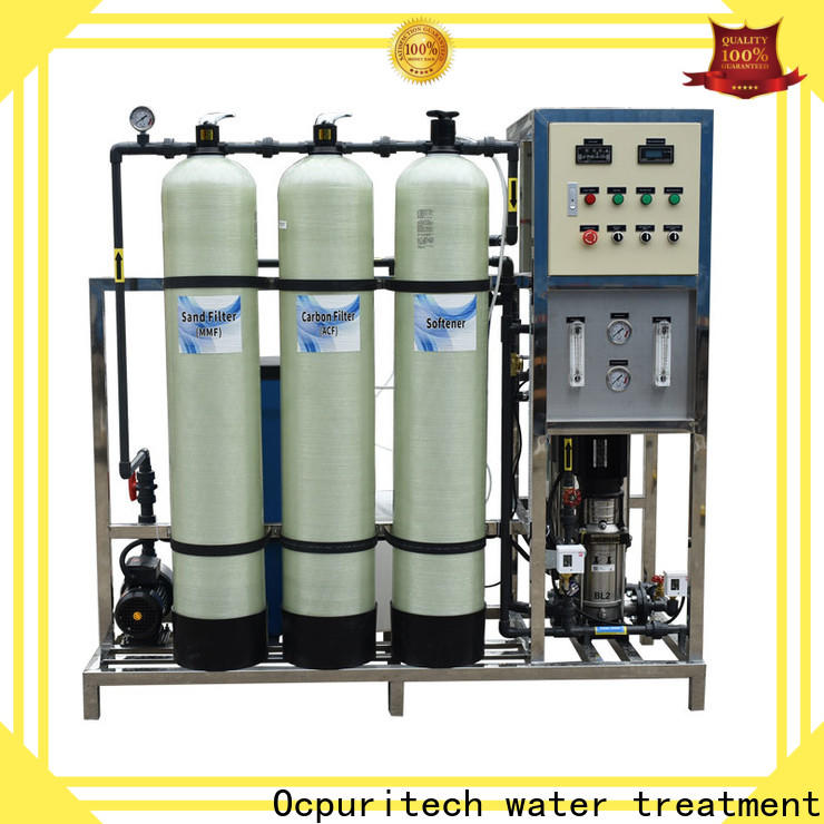 Ocpuritech 1000lph reverse osmosis system manufacturers factory price for agriculture