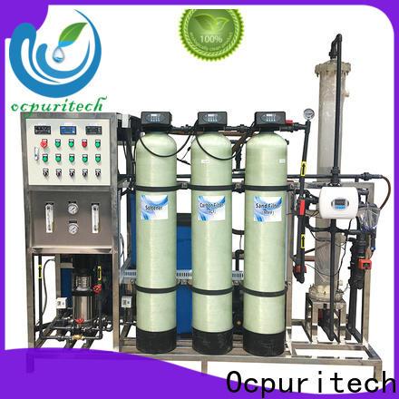 Ocpuritech quality deionizer filter company for medicine