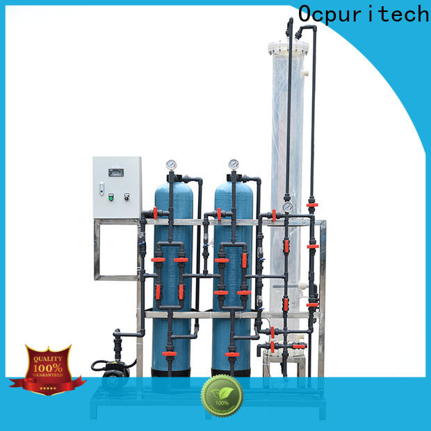 Ocpuritech best deionized water filter system suppliers for medicine
