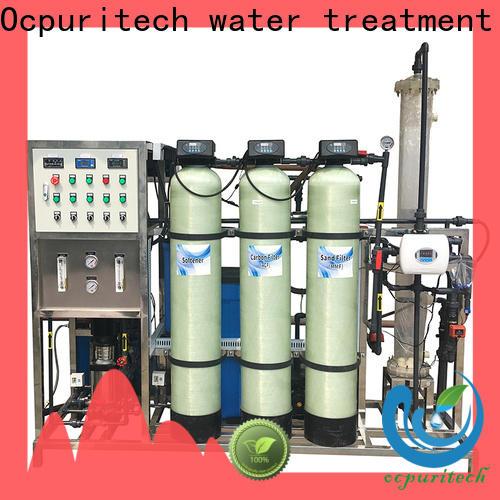 Ocpuritech treatment di water filtration system design for medicine