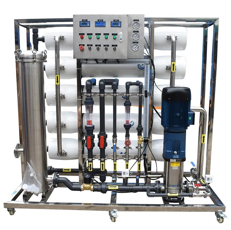 5tph large industrial pure water making machine water purification machine from manufacturing