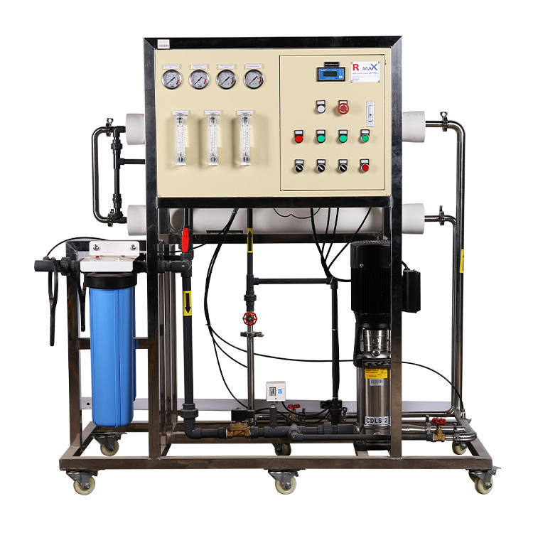 500LPH drinking machine reverse osmosis drinking machine industrial RO water purification plant