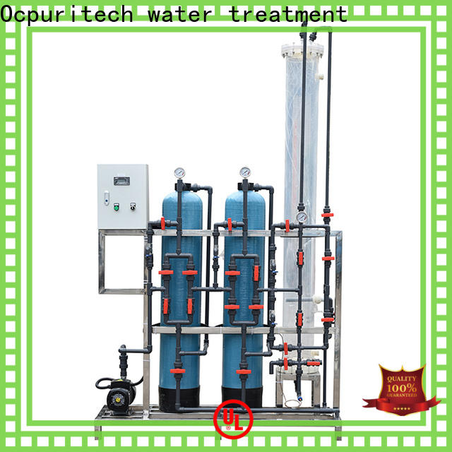 Ocpuritech top water purification unit factory for industry
