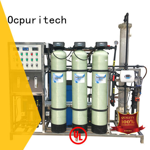 Ocpuritech sea water treatment systems series for factory