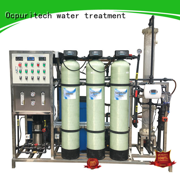 3000lph pure water treatment plant commercial manufacturer for industry