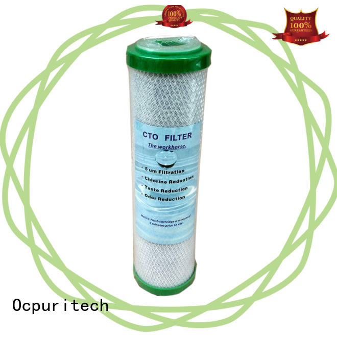 Ocpuritech activated carbon 20 water filter cartridge suppliers for medicine