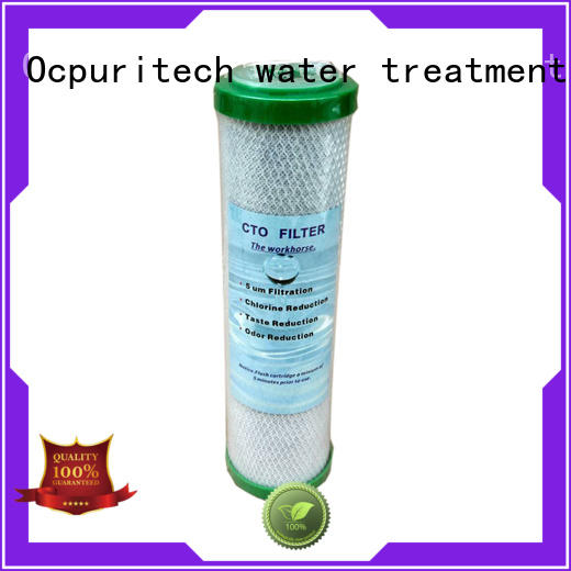 Ocpuritech activated filter cartridges with good price for business