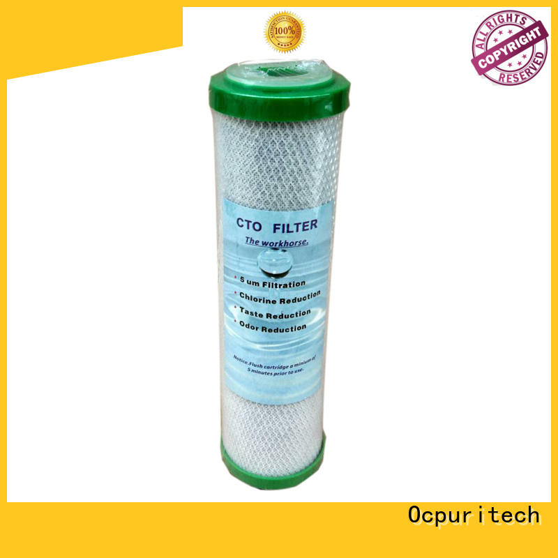Ocpuritech Brand High filtering precision corrosion resistance custom water cartridge