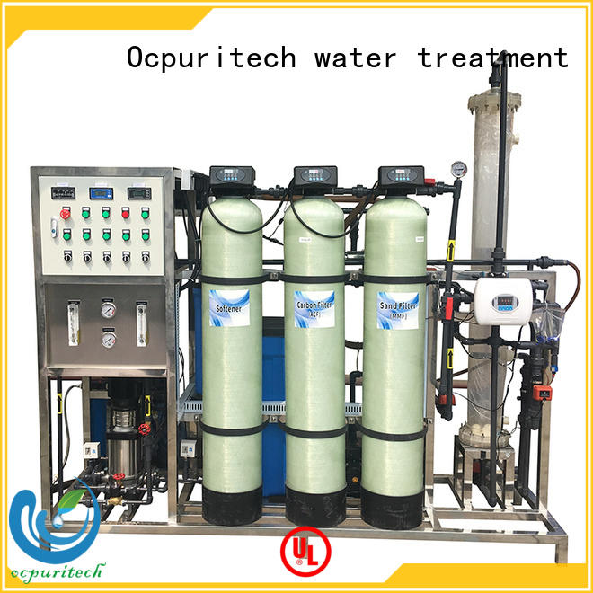 Ocpuritech industrial deionized water system factory for household