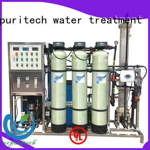 practical water treatment systems 750lph manufacturer for factory