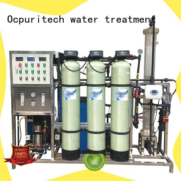 Ocpuritech industrial deionizer with good price for medicine